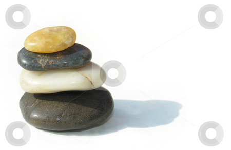 Stacked Stones stock photo,  by Kirsty Pargeter