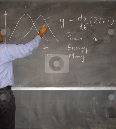 Writing on Chalkboard stock photo,  by Kirsty Pargeter