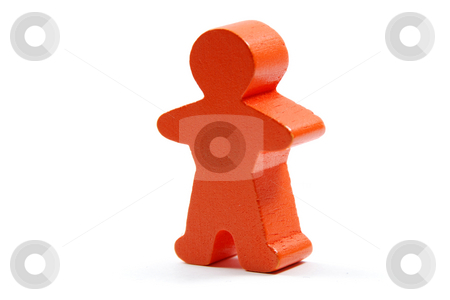 Man stock photo, Simple wooden man by Gjermund Alsos