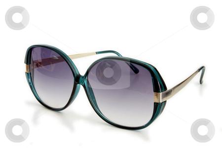 Sunglasses stock photo, Isolated Sunglasses by Jan Martin Will