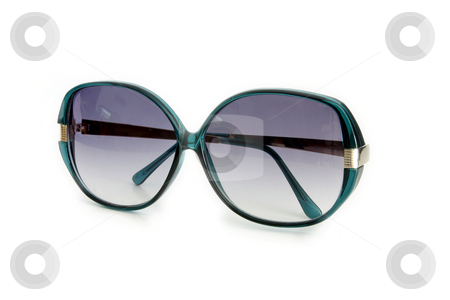 Sunglasses stock photo, Isolated Sunglasses by Jan Martin Will