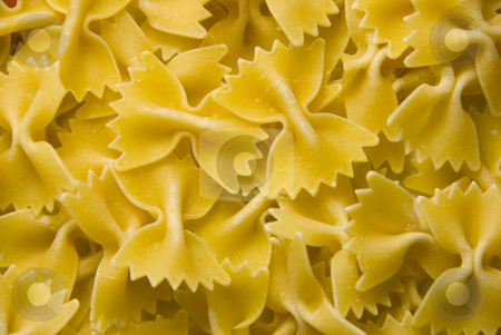 Noodles stock photo, Close up shoot of yellow egg noodles by Wolfgang Zintl