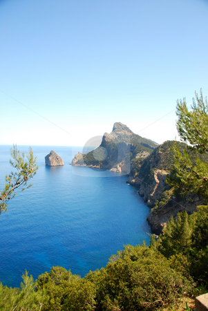 Mallorca stock photo, Cap de majorca on a nice summer day by Wolfgang Zintl