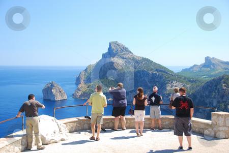 Mallorca stock photo, Coast line of the island mallorca by Wolfgang Zintl