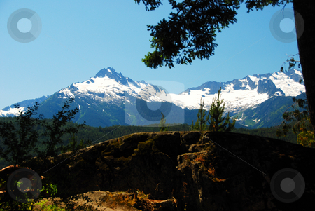 Coat mountains stock photo, The coast mountains in canada british columbia by Wolfgang Zintl