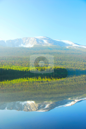 Beatiful Lake stock photo, Lake and Water reflection in Canada British Columia by Wolfgang Zintl