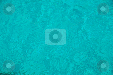 Blue water stock photo, Blue water background by Wolfgang Zintl