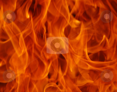 Fire stock photo, Beautiful close up shoot of fire flammes by Wolfgang Zintl