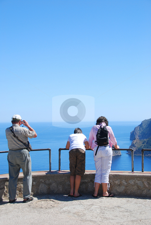 Mallorca stock photo, Cap de majorca view point in summer by Wolfgang Zintl