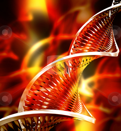 DNA abstract stock photo, Abstract DNA background by Kirsty Pargeter
