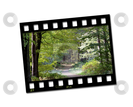 Countryside filmstrip stock photo, Filmstrip with countryside image by Kirsty Pargeter