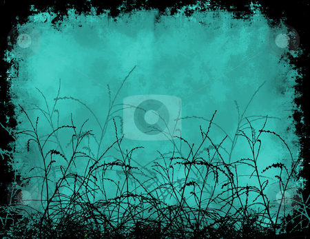 Grunge foliage stock photo, Grunge foliage background by Kirsty Pargeter
