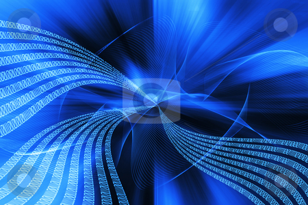 Binary Code in tunnel stock photo,  by Kirsty Pargeter