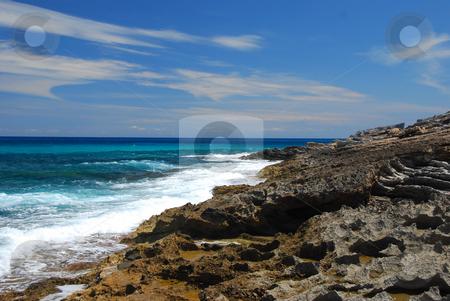 Mallorca stock photo, Beautiful beach on the island mallorca spain by Wolfgang Zintl