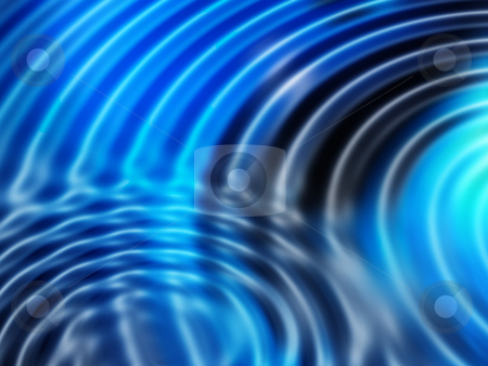 Abstract blue stock photo, Abstract ripples background by Kirsty Pargeter