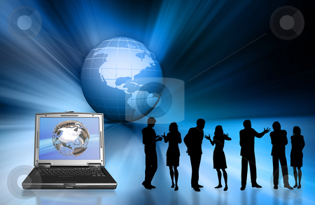 Global business stock photo, Conceptual image depicting global business by Kirsty Pargeter