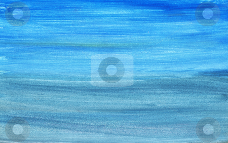 Blue gradient stock photo, Hand painted blue gradient by Kirsty Pargeter
