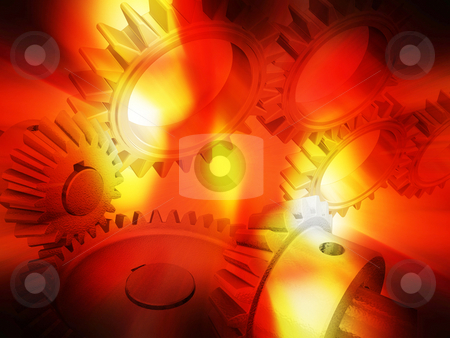 Gears concept stock photo, Gears conceptual background by Kirsty Pargeter