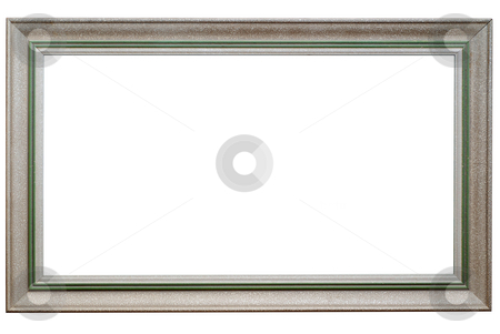 Picture frame stock photo, Picture frame isolated on white. Clipping path included. by Gjermund Alsos