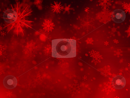Snowflake background stock photo, Abstract snowflake background by Kirsty Pargeter