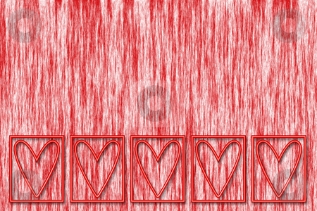 Abstract hearts stock photo, Abstract hearts background by Kirsty Pargeter