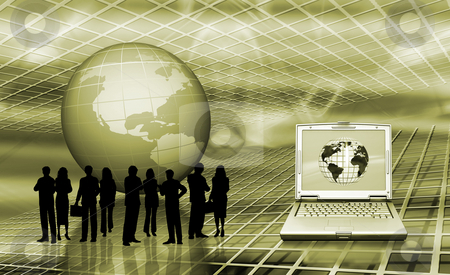 World trading stock photo, Conceptual image depicting world trading by Kirsty Pargeter