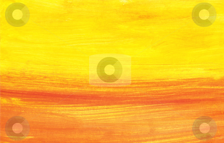 Abstract sunset stock photo, Handpainted abstract sunset background by Kirsty Pargeter