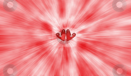 Heart background stock photo, Abstract hearts background by Kirsty Pargeter