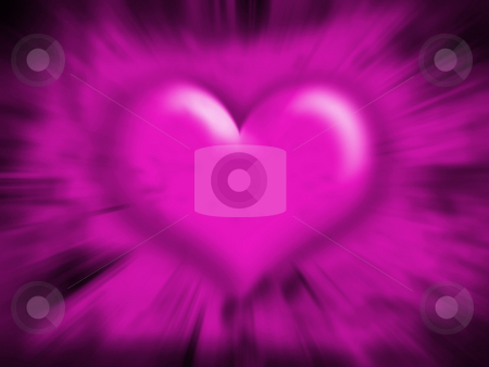 Heart blur stock photo, Abstract heart background by Kirsty Pargeter