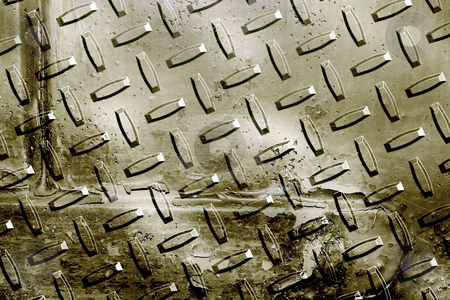 Grunge metal stock photo, Grunge style metal plate by Kirsty Pargeter
