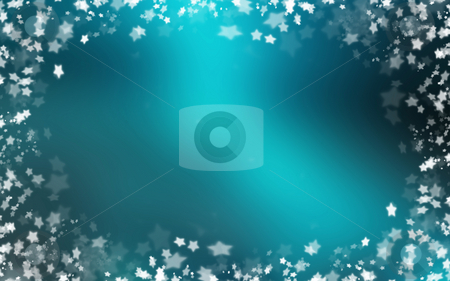 Starry border stock photo, Border of many stars by Kirsty Pargeter