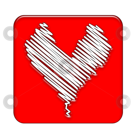 Heart stock photo, Abstract heart background by Kirsty Pargeter