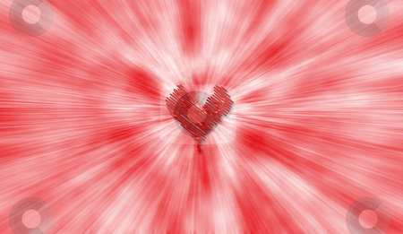 Abstract heart stock photo, Abstract heart background by Kirsty Pargeter