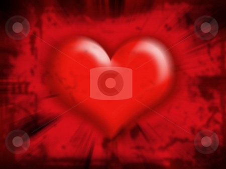 Heart background stock photo, Heart blur background by Kirsty Pargeter