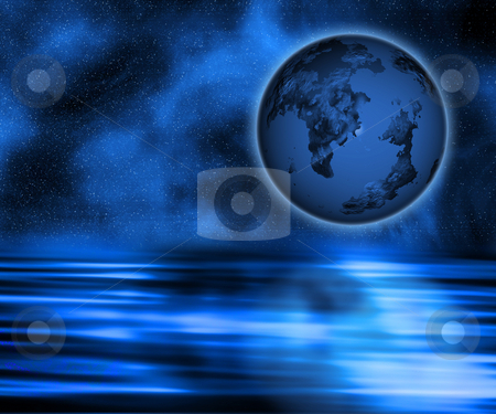 Abstract planet stock photo, Abstract planet background by Kirsty Pargeter