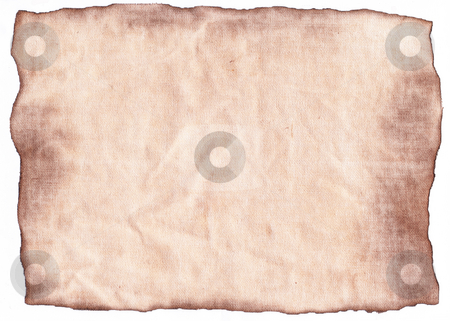 Old burnt paper stock photo, Burnt paper background by Kirsty Pargeter