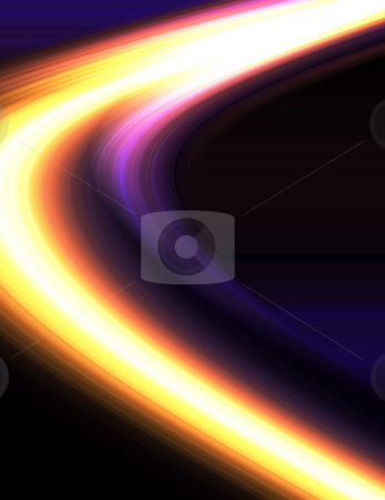 Speed of light stock photo, Abstract blur background by Kirsty Pargeter