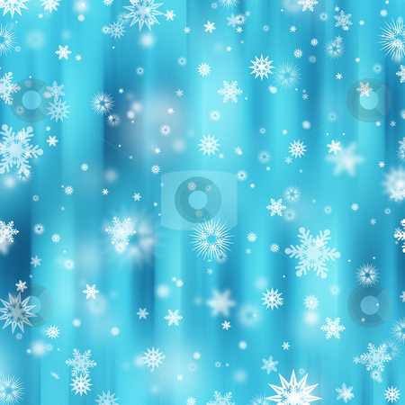 Snowflakes stock photo, Snowflake background by Kirsty Pargeter