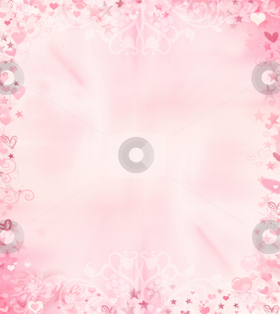 Valentines background stock photo, Abstract Valentines background by Kirsty Pargeter