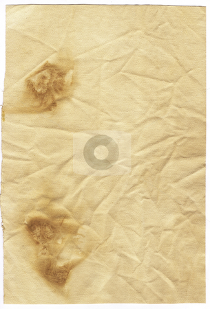 Old paper stock photo, Old burnt paper by Kirsty Pargeter