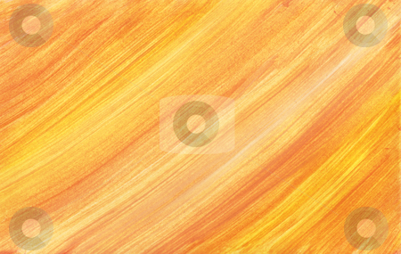 Orange gradient stock photo, Hand painted orange gradient background by Kirsty Pargeter