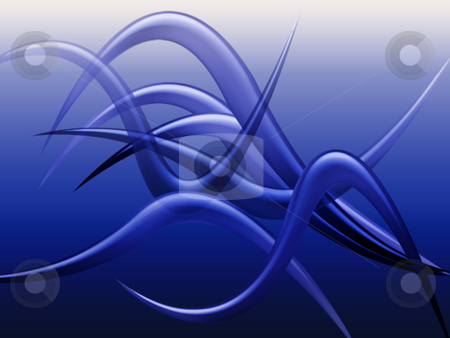 Tentacles stock photo, Abstract tentacles by Kirsty Pargeter