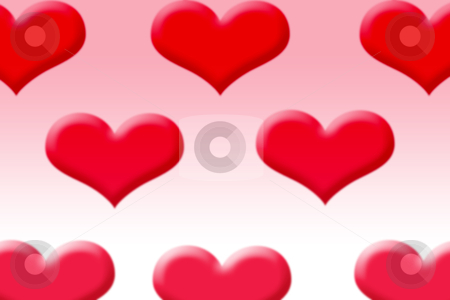 Heart background stock photo, Hearts background by Kirsty Pargeter