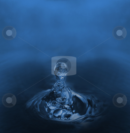 Water drop stock photo, Water drop by Kirsty Pargeter