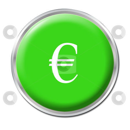 Economic Help Button stock photo, Isolated round button starting the economic help by Petr Koudelka