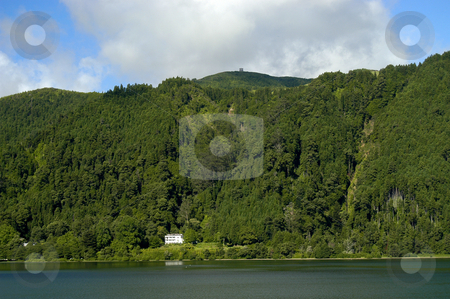 Lake stock photo, Lake and the mountains by Rui Vale de Sousa