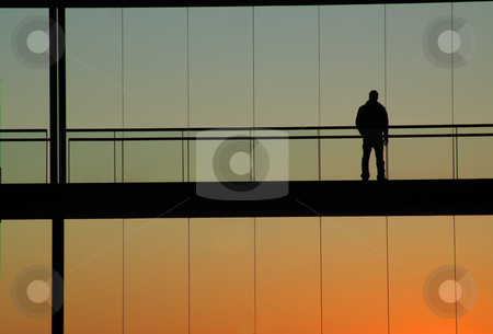 People stock photo, Man in the building by Rui Vale de Sousa