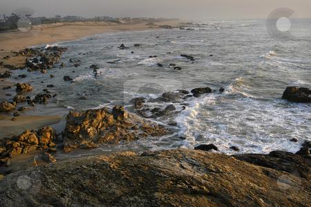 Ocean stock photo, Portuguese coast rocks by Rui Vale de Sousa