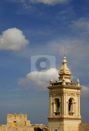 Church stock photo, Ancient church detail in the island of malta by Rui Vale de Sousa