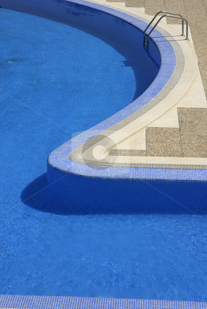 Water stock photo, Swmming pool blue water detail in summer time by Rui Vale de Sousa